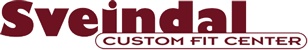 Logo Sveindal Custom Fit Center
